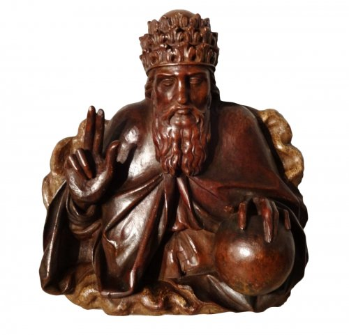 God the Father carved 17th century
