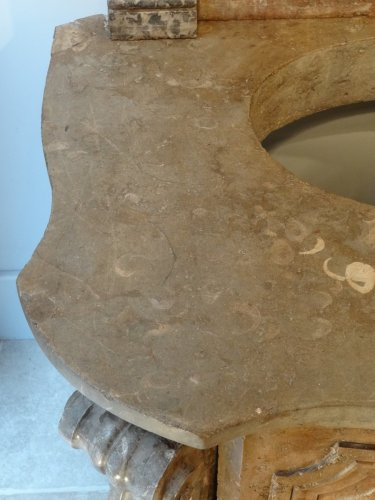 Fountain stone and marble 18th century -