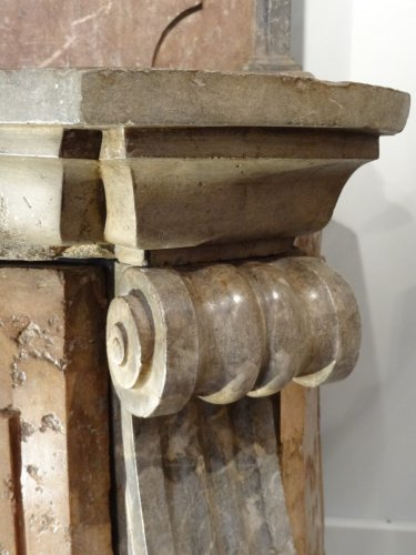 18th century - Fountain stone and marble 18th century
