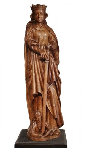 St. Catherine oak 16th century
