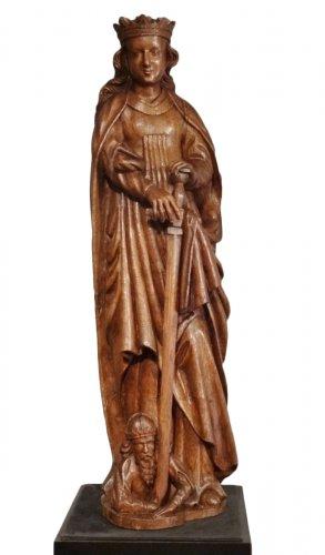 St. Catherine oak 16th century