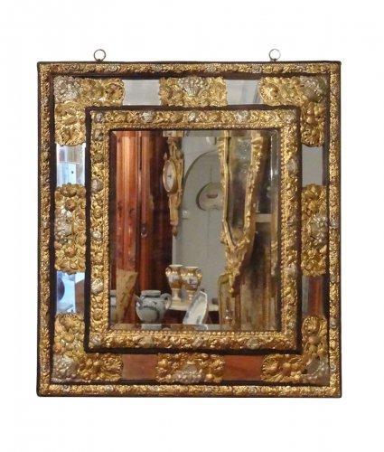 Miroir ancien glace miroir et trumeau antiquit s for Miroir louis xiii