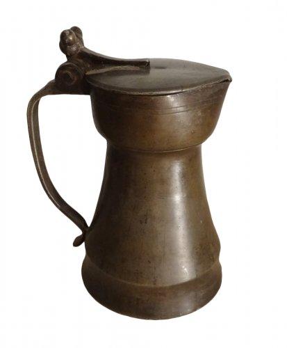 Pitcher Tin 17th Century