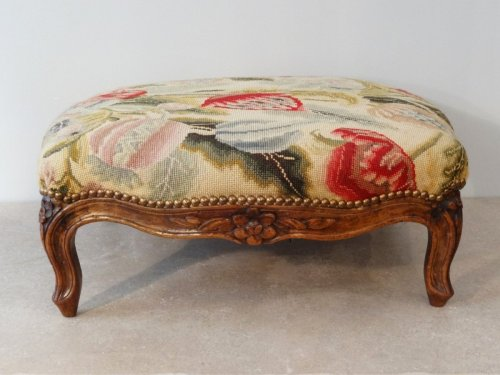 French Louis XV Stool  - Louis XV