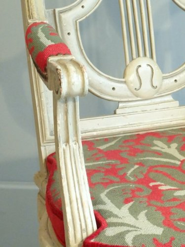 Pair of armchairs Directoire from early 19th century - Directoire