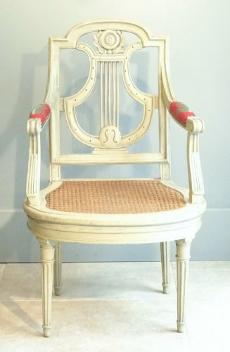 Directoire - Pair of armchairs Directoire from early 19th century