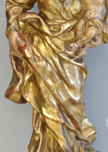 Sculpture  - Virgin and Child 18th century