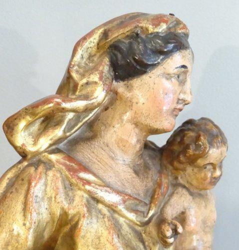 Virgin and Child 18th century - Louis XV