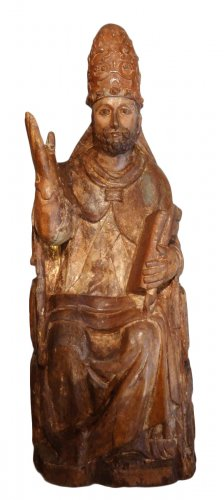 Saint Pierre in majesty late 14th century early 15th century