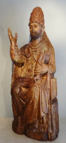 Saint Pierre in majesty late 14th century early 15th century -