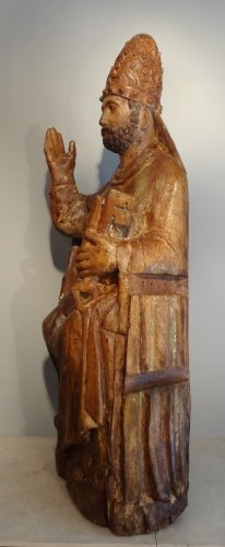 Saint Pierre in majesty late 14th century early 15th century - Middle age