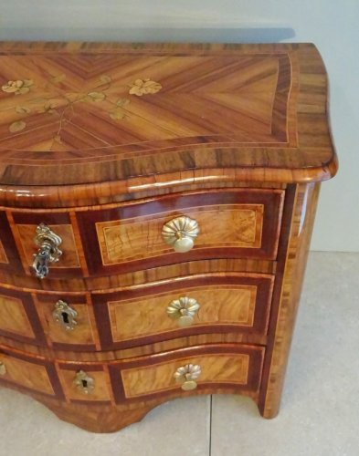 "Chest of drawers Louis XIV ""de maîtrise"" early 18th century -"
