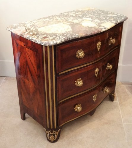 French Louis XIV commode  in marquetry, 17th century - Furniture Style Louis XIV