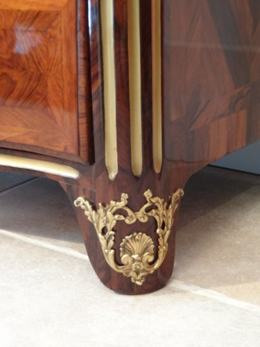 French Louis XIV commode  in marquetry, 17th century -