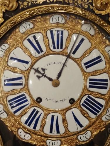 A Louis XV brass and tortoiseshell cartel - Clocks Style Louis XV