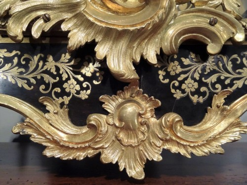 18th century - A Louis XV brass and tortoiseshell cartel