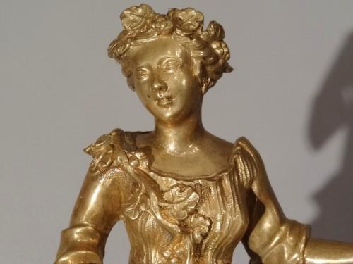 Antiquités - A Louis XV brass and tortoiseshell cartel