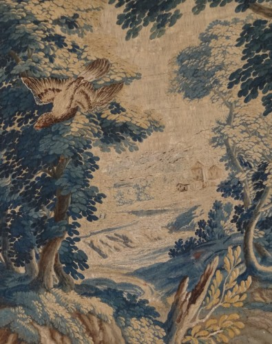 "Tapestry & Carpet  - Aubusson Tapestry ""verdure"" After Oudry 18th Century"