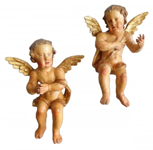 Cherubs carved 17th Century