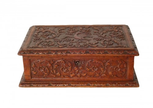 Small Wooden Box, By Caesar Bagard Late 17th Century