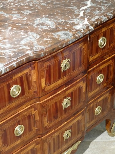 Transition commode stamped B. DURAND 18th century -