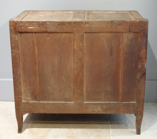Transition commode stamped B. DURAND 18th century - Transition