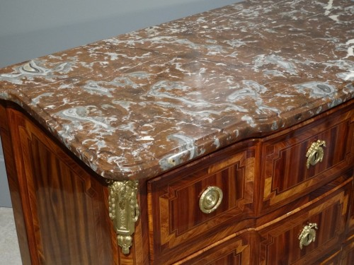 Antiquités - Transition commode stamped B. DURAND 18th century