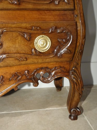 18th century - French Provencal Chest of drawer Louis XV - 18 th century