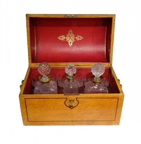 Liquor cabinet in a box vintage 1900