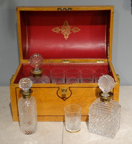 Decanter Box vintage 1900 - Decorative Objects Style
