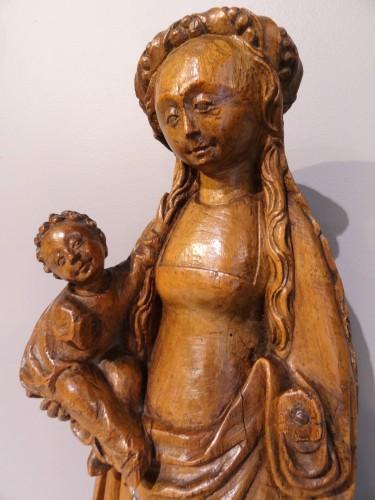 """Virgin and child called """"Mechelen doll"""" around 1530-1550 - Renaissance"""