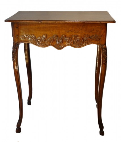 French Louis XV Walnut Table
