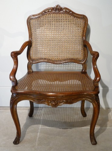 """Seating  - French Louis XV """"cane"""" Armchair 18th century"""