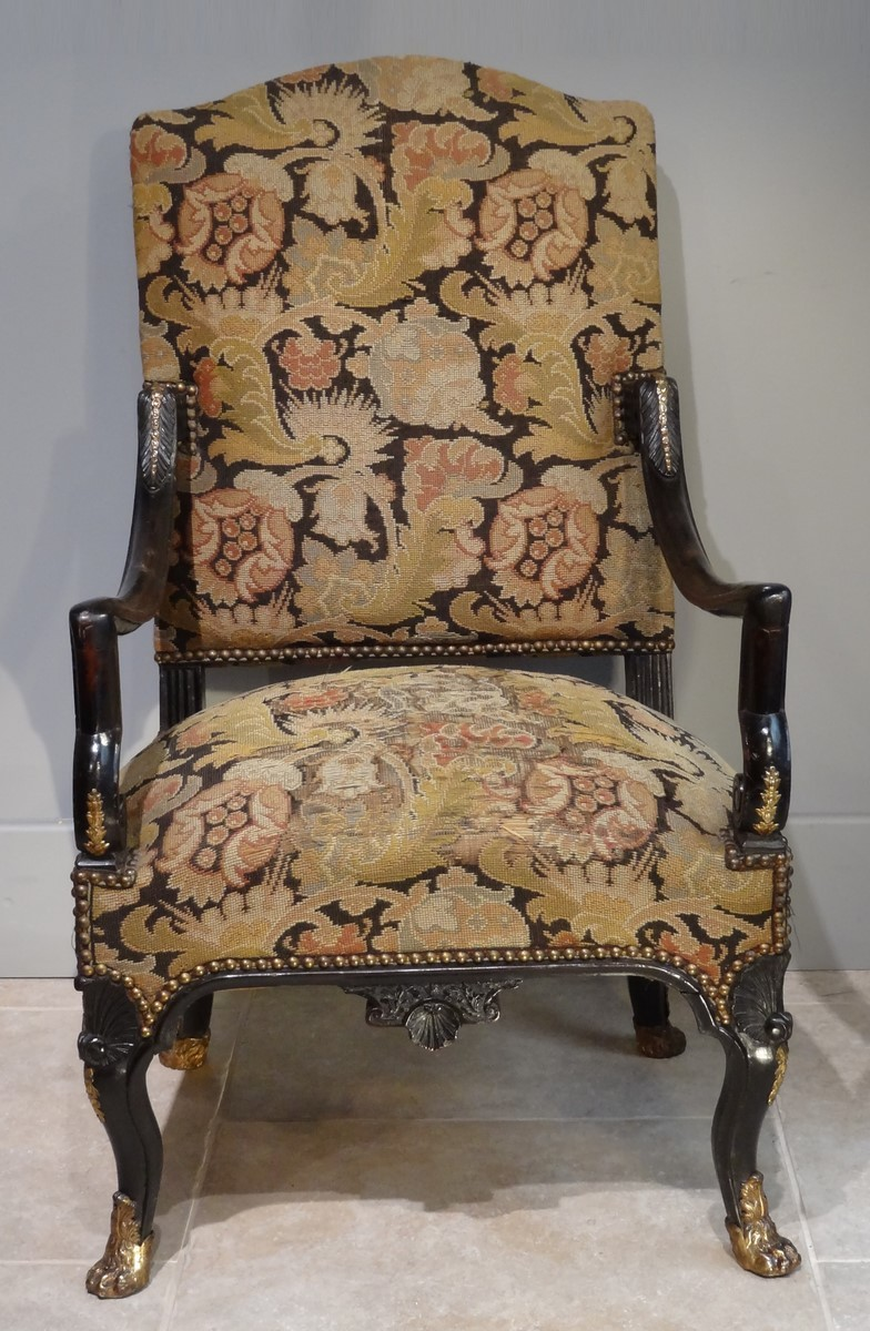 French Armchair U0026quot;Regenceu0026quot;, Early 18th Century   Seating Style ...