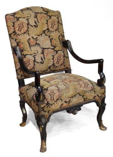 "French armchair ""Regence"", early 18th century"