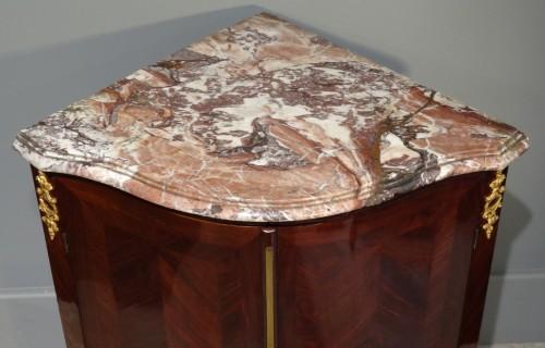 Furniture  - French Louis XV corner cabinet