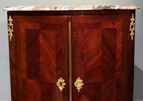 French Louis XV corner cabinet -