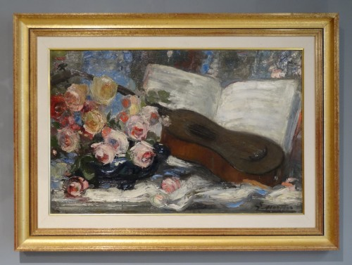 French oil On Canvas Signed Jacques Martin (1844-1919) -