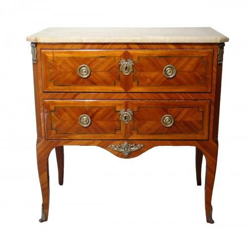Small Transition dresser stamped Schlichtig late 18th century