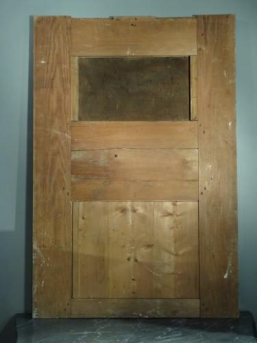 Louis XV painted wood Trumeau -