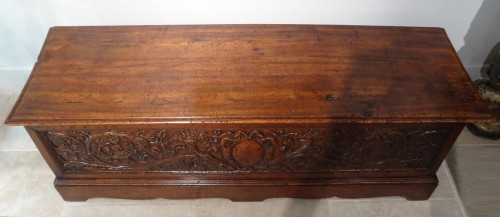 Furniture  - 16th Century Italian Renaissance Walnut Chest Late