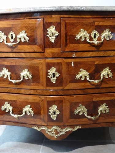 Small Louis XV Commode Stamped -
