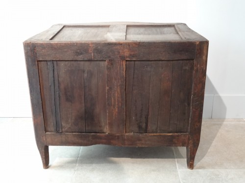 Antiquités - Small Louis XV Commode Stamped