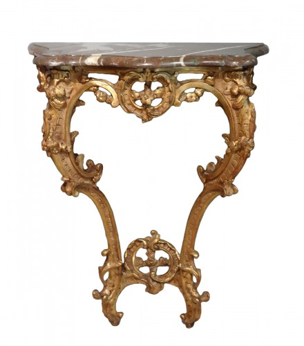 Small French Louis XV Console