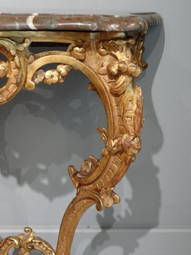 Small French Louis XV Console - Furniture Style Louis XV