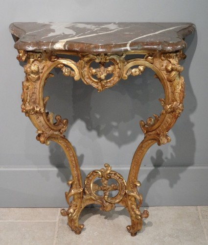 Small French Louis XV Console -