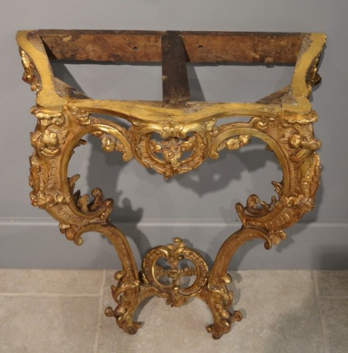 18th century - Small French Louis XV Console
