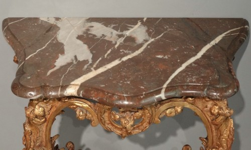 Small French Louis XV Console - Louis XV
