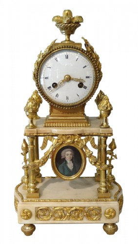 Late 18th Century French Portico clock