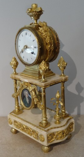 Late 18th Century French Portico clock -